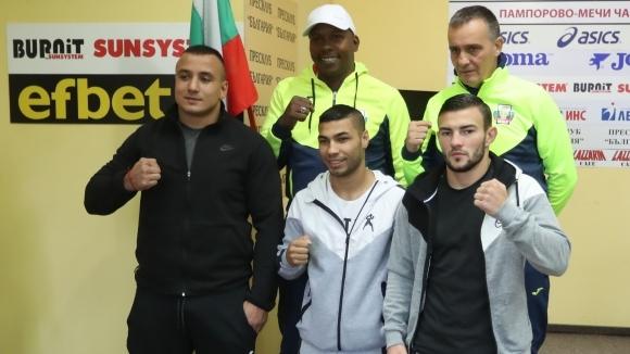 Мъжкият национален отбор по бокс започна усилена подготовка за новия