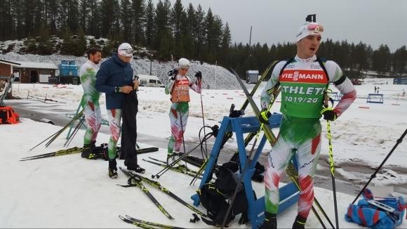 Националният отбор на България по биатлон е поставен под изолация