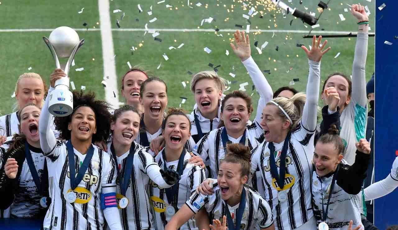 Женският отбор на Ювентус спечели Суперкупата на Италия. На финала
