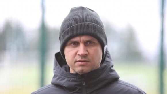 Красимир Петров даде специално интервю пред клубната камера на по