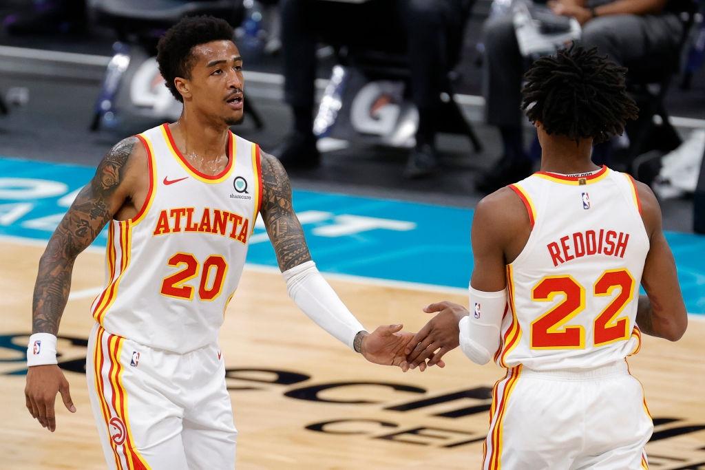Срещата от редовния сезон на Националната баскетболна асоциация между Атланта