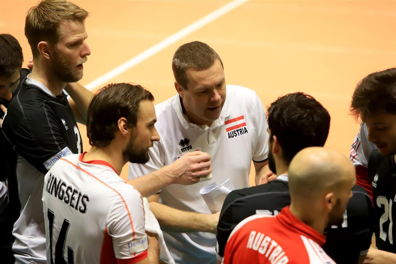 Селекционерът на националния волеболен отбор на Австрия Радован Гачич призна