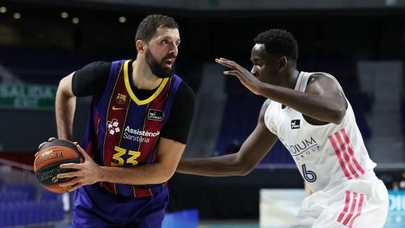 Баскетболният отбор на Барселона ще мери сили с лидера в