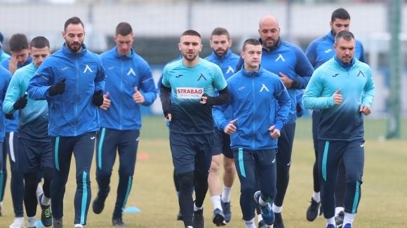 Отборът на Левски проведе първата си тренировка от зимния подготвителен