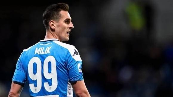 Нападателят на Наполи Аркадиуш Милик е договорил личните си условия