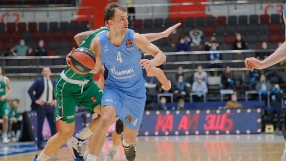 Изненадата на сезона в Евролигата Зенит (Санкт Петербург) се върна