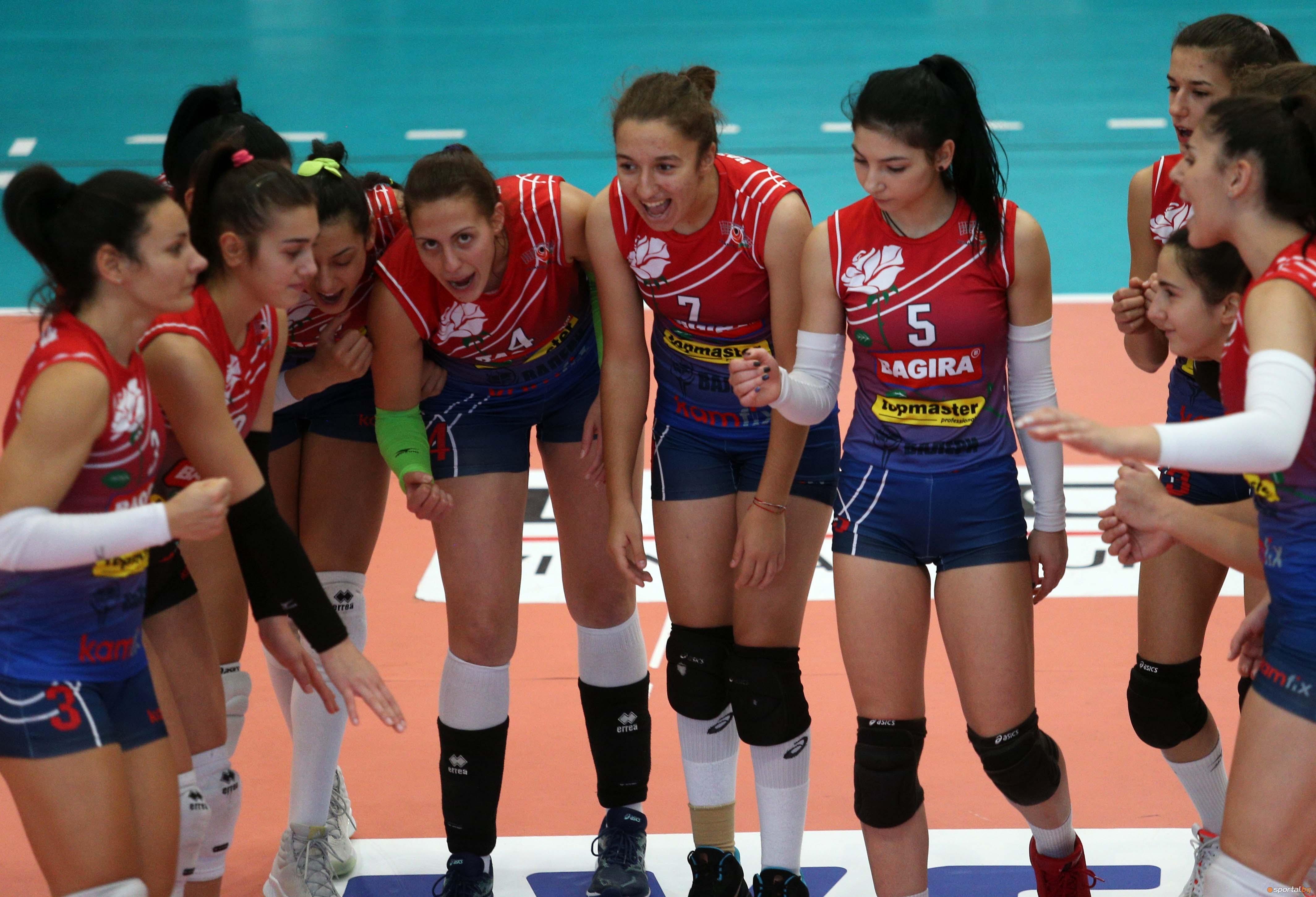 Казанлък Волей се утвърди на първото място в женското волейболно
