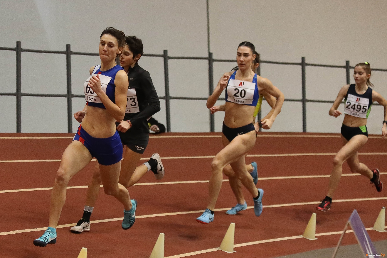 Полина Тодорова (Тунджа-Ямбол) извоюва победата на 800 метра при жените