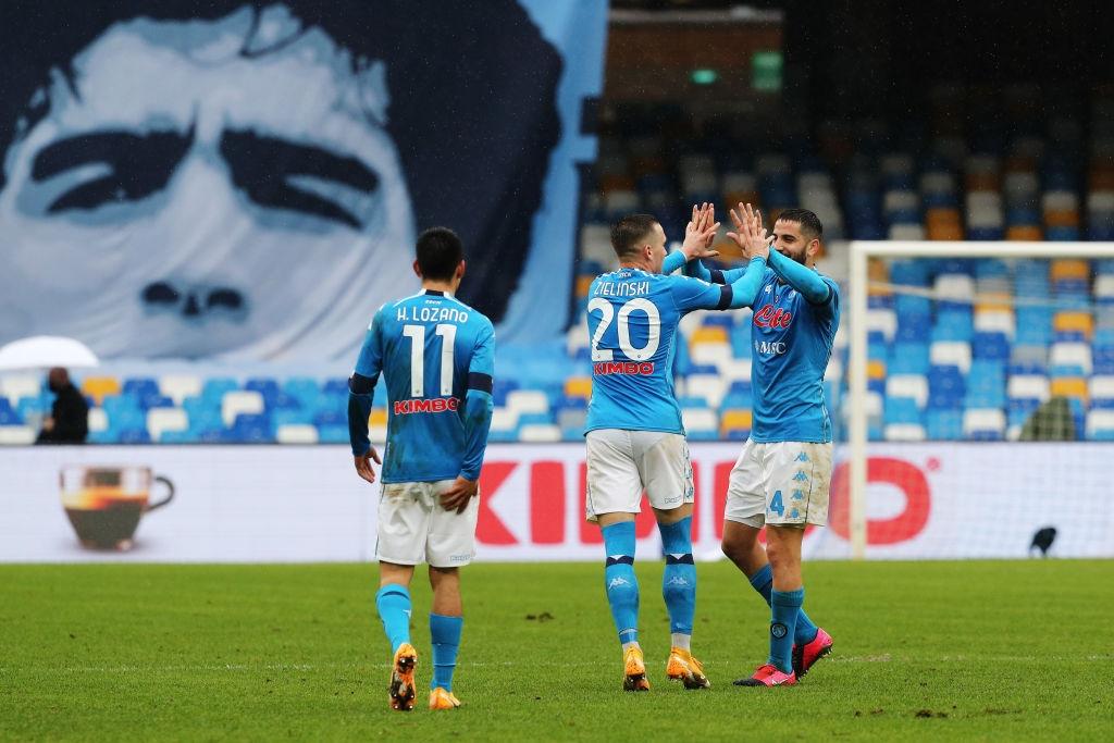 Наполи излезе на трето място във временното класиране на Серия