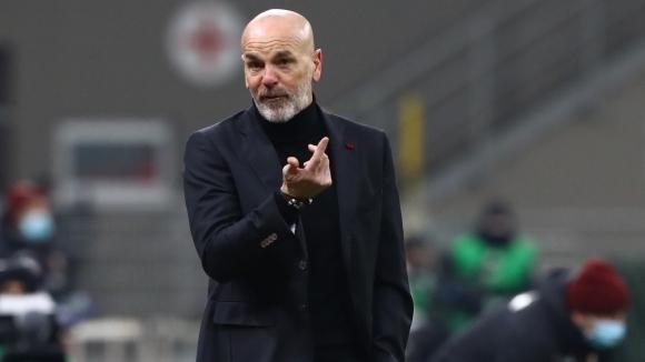 Наставникът на Милан Стефано Пиоли омаловажи възможността неговият отбор да