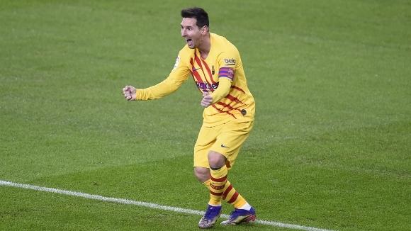 Суперзвездата на Барселона Лионел Меси ще е титуляр в тазвечершния