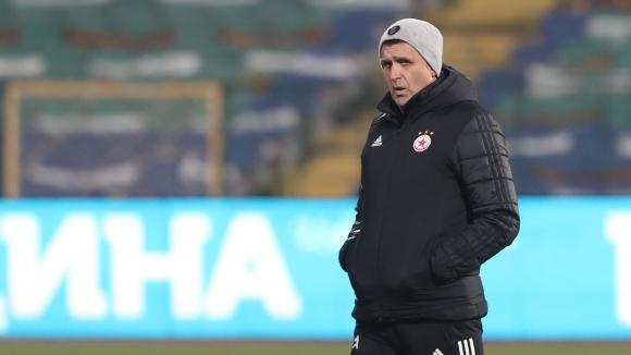 Старши треньорът на ЦСКА-София Бруно Акрапович изказа мнението си след