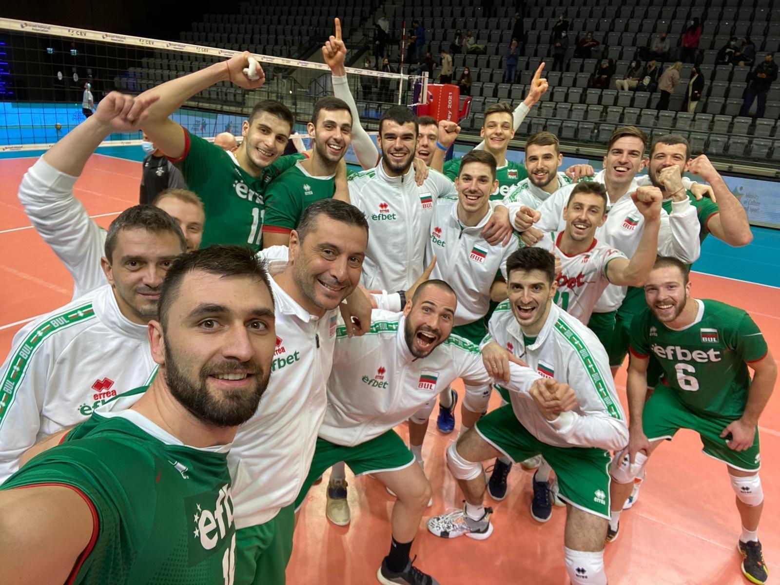 Волейболистите от националния отбор на България излизат срещу домакините от