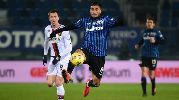 Отборите на Аталанта и Дженоа завършиха наравно 0:0 в Бергамо