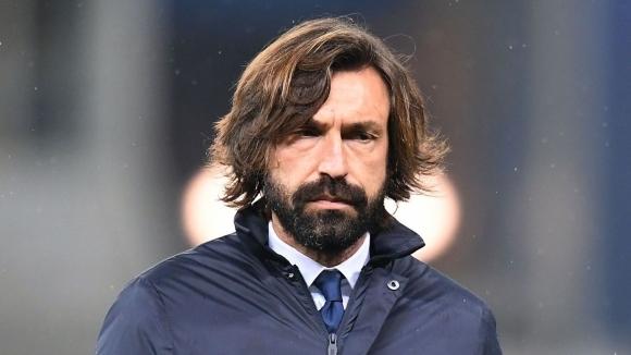 Треньорът на Ювентус Андреа Пирло нямаше от какво да е