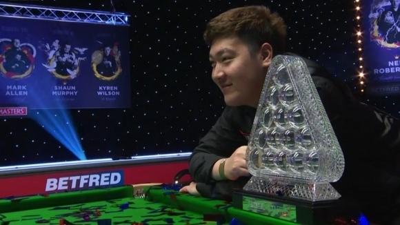 20-годишният китаец Ян Бинтао се превърна в петия дебютант, който