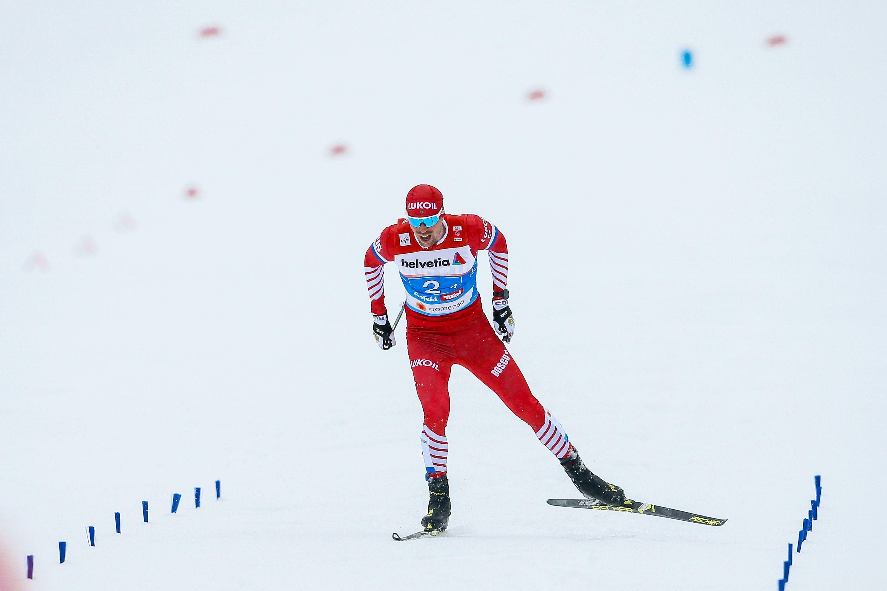 Двукратният световен шампион по ски бягане Сергей Устюгов, който пропусна