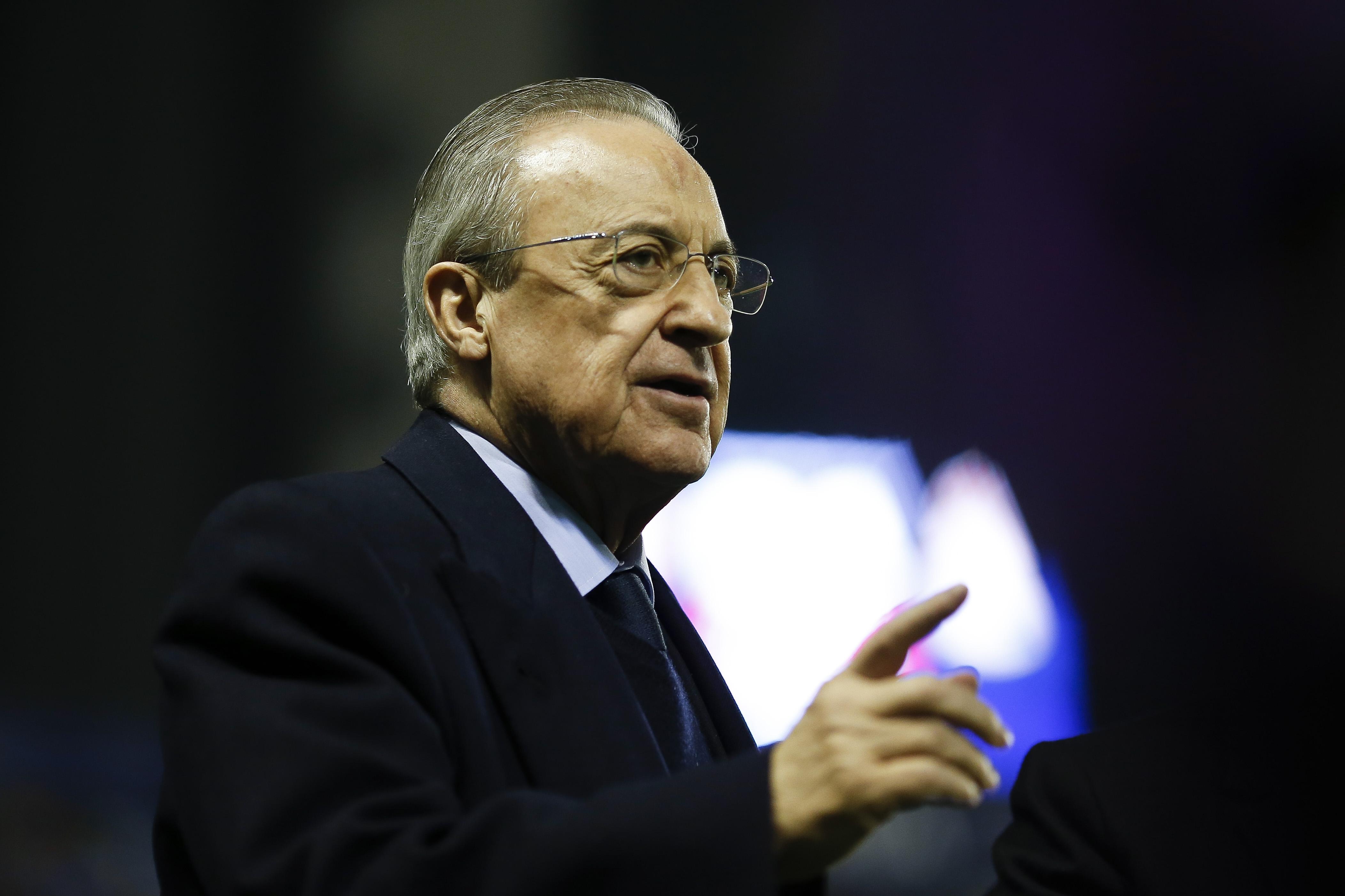 Президентите на Реал Мадрид и Ювентус Флорентино Перес и Андреа