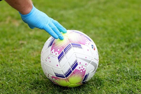 Мачът от френската Лига 1 между и , който трябваше
