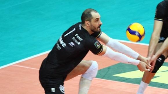 Българският волейболист на Ню Блу Волей (Верона) вече е реализатор