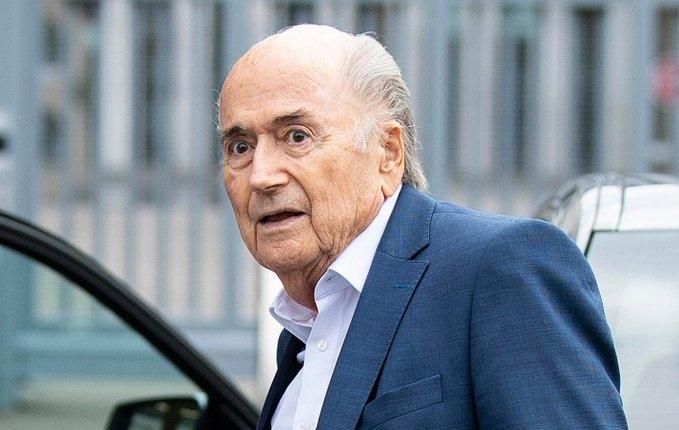 Бившият президент на Световната федерация по футбол (ФИФА) Сеп Блатер