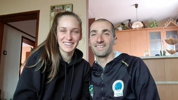 Биатлонистите Милена Тодорова и Владимир Илиев вече може да тренират