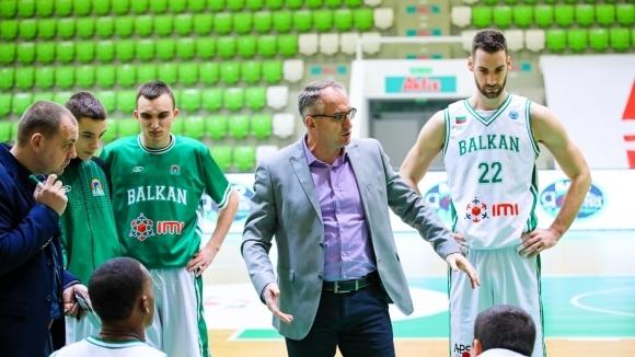 Старши треньорът на Балкан (Ботевград) Йовица Арсич заяви, че има