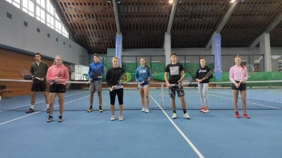 Българската федерация по тенис проведе тренировъчни сесии за най-изявените млади