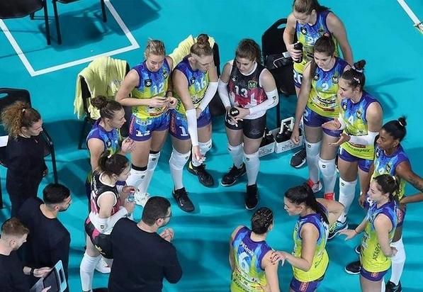 От днес до четвъртък женският волейболен шампион Марица (Пловдив) ще