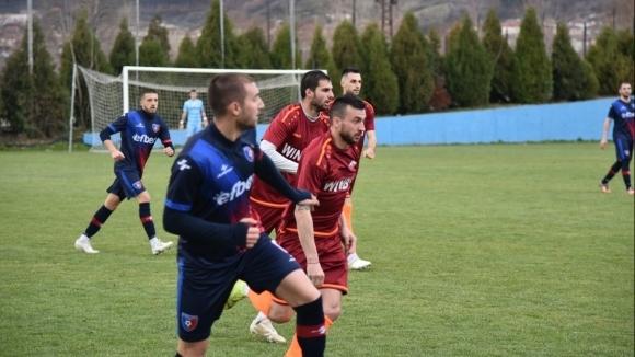 Отборите на и (Радомир) завършиха наравно 1:1 в поредната футболна