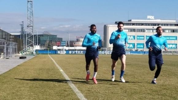 Новото попълнение на Файсал Рерас направи първа тренировка с клуба.