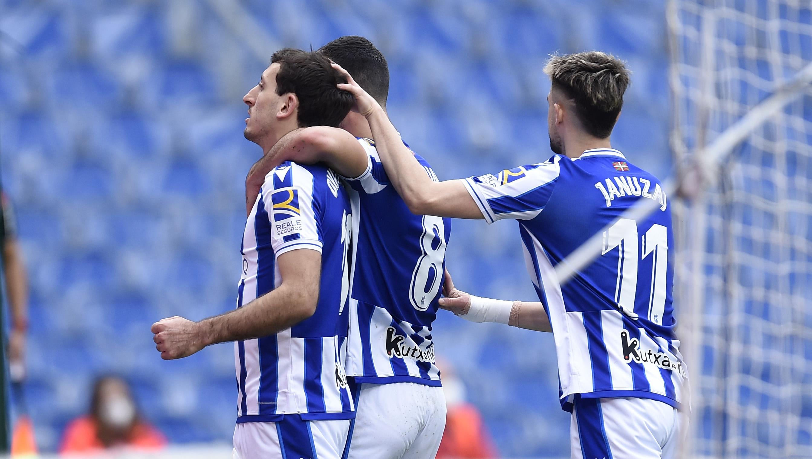 Отборът на Реал Сосиедад постигна първа домакинска победа в Ла