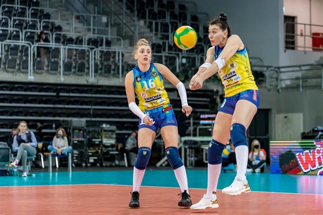 Женският волейболен шампион на БългарияМарица (Пловдив) ще гостува на Локомотив