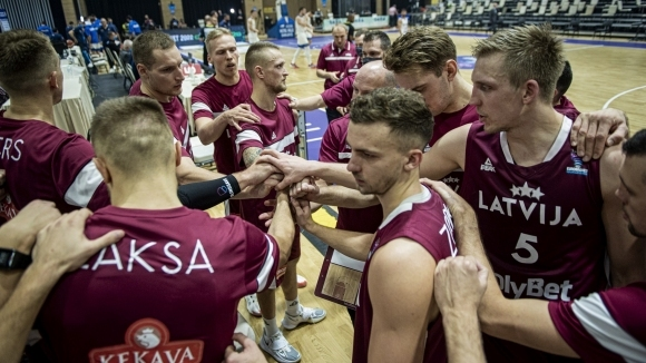 Старши треньорът на латвийския мъжки национален отбор по баскетбол Робертс