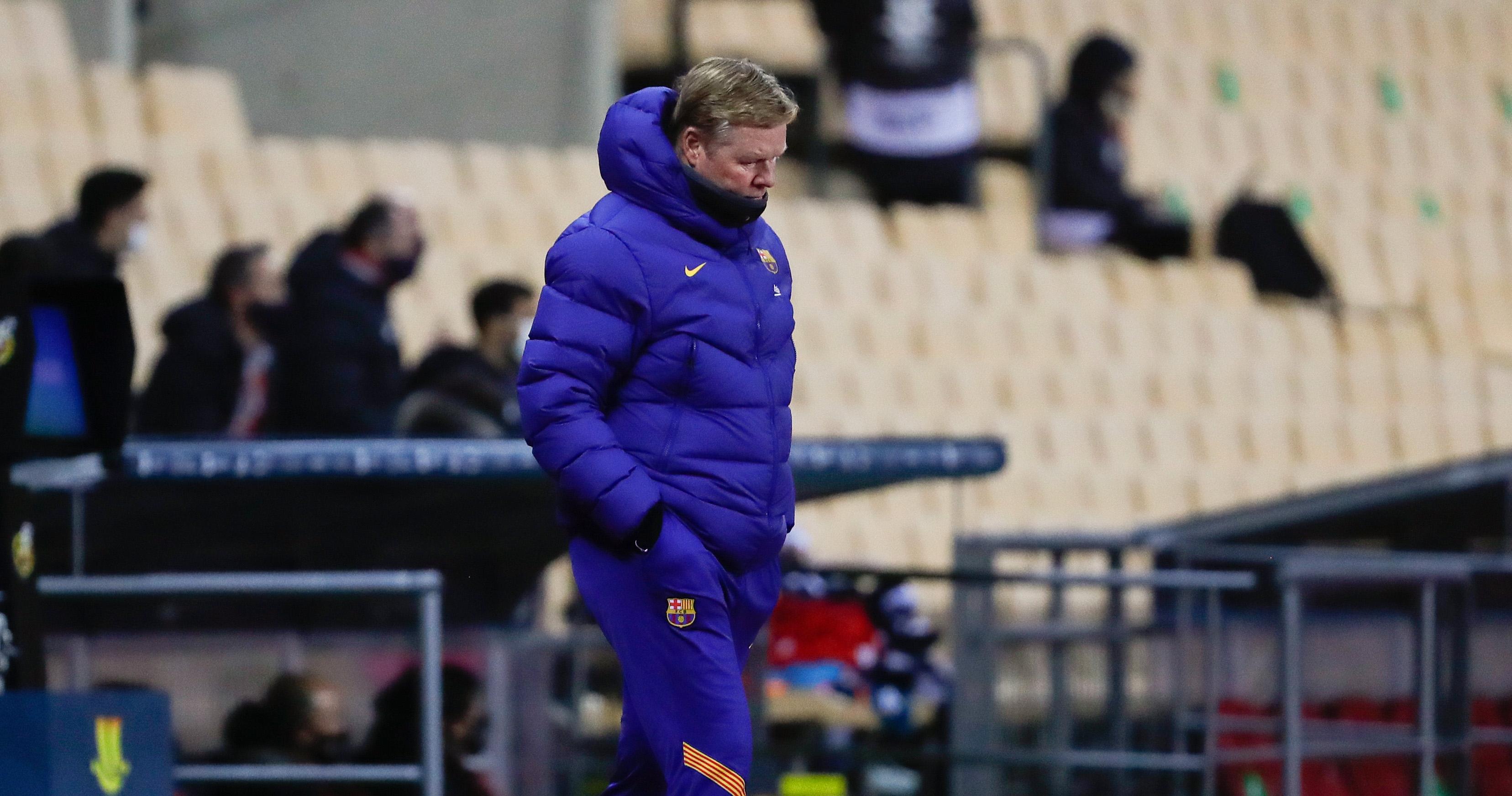 Старши треньорът на Барселона Роналд Куман изрази разочарованието си от