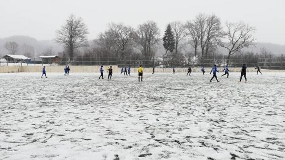 Отборите на и завършиха наравно 2:2 в контролна среща играна