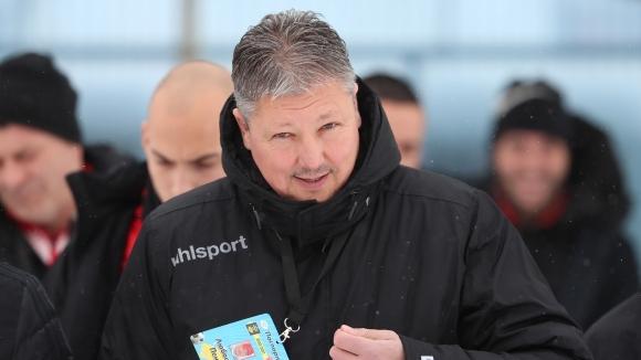 Наставникът на Царско село Любослав Пенев не беше доволен от