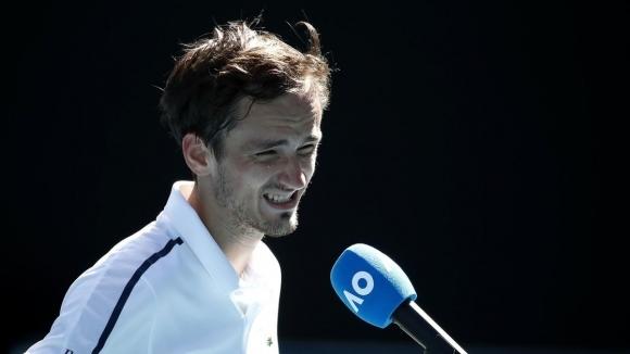 Руският тенисист Даниил Медведев нарече класирането си на четвъртфинал на
