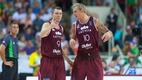Мъжкият национален отбор на Латвия по баскетбол започна подготовка за