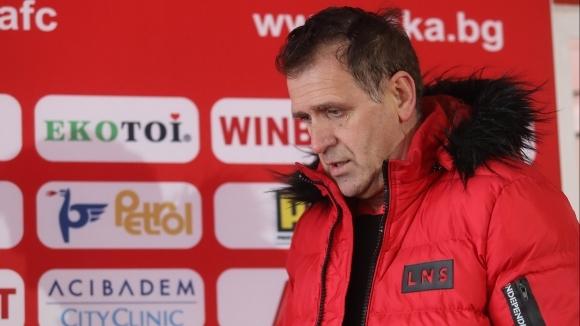 Старши треньорът на ЦСКА-София Бруно Акрапович ще даде пресконференция преди