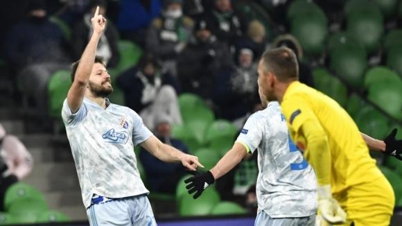 Динамо (Загреб) направи сериозна крачка към осминафиналите на Лига Европа,