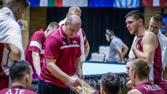 Наставникът на мъжкия национален отбор на Латвия по баскетбол Робертс