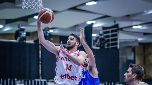 Баскетболистът Цветомир Чернокожев отпадна в последния от сметките на националния