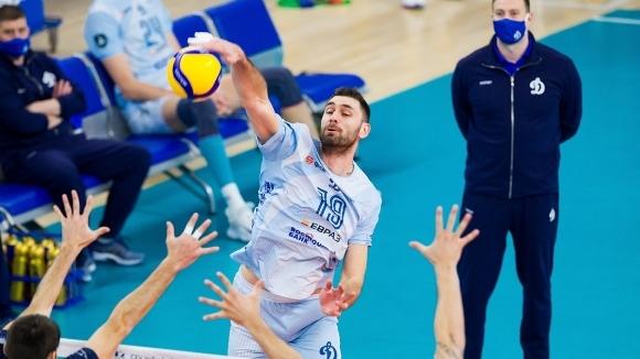 Капитанът на националния отбор на България Цветан Соколов и неговият