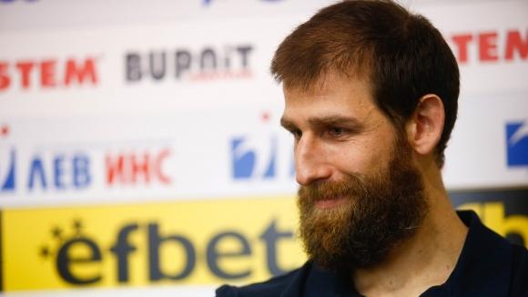 Капитанът на мъжкия национален отбор на България по баскетбол Чавдар