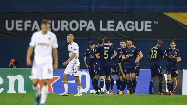 Динамо (Загреб) довърши работата си на 1/16-финала в Лига Европа