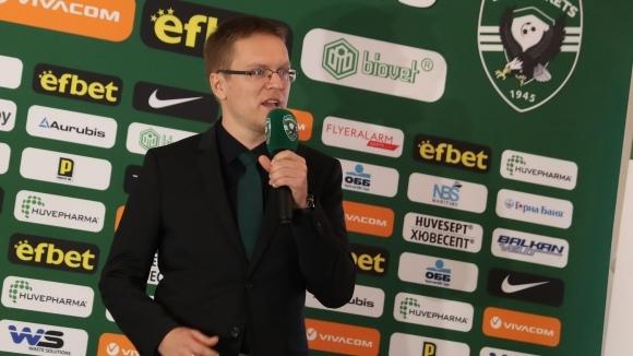 Наставникът на Лудогорец Валдас Дамбраускас беше избран за футболен треньор