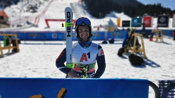 Единственият българин в елита на световните алпийски ски Алберт Попов