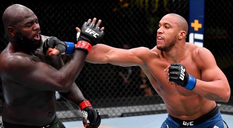 Бойците на UFC в тежка категория Сирил Гане и Жаирзиньо