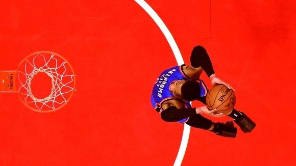 Мачове от редовния сезон в Националната баскетболна асоциация (НБА): Вашингтон